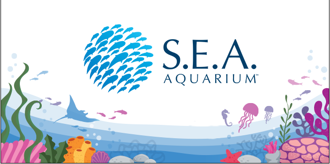 S.E.A. Aquarium Society Logo